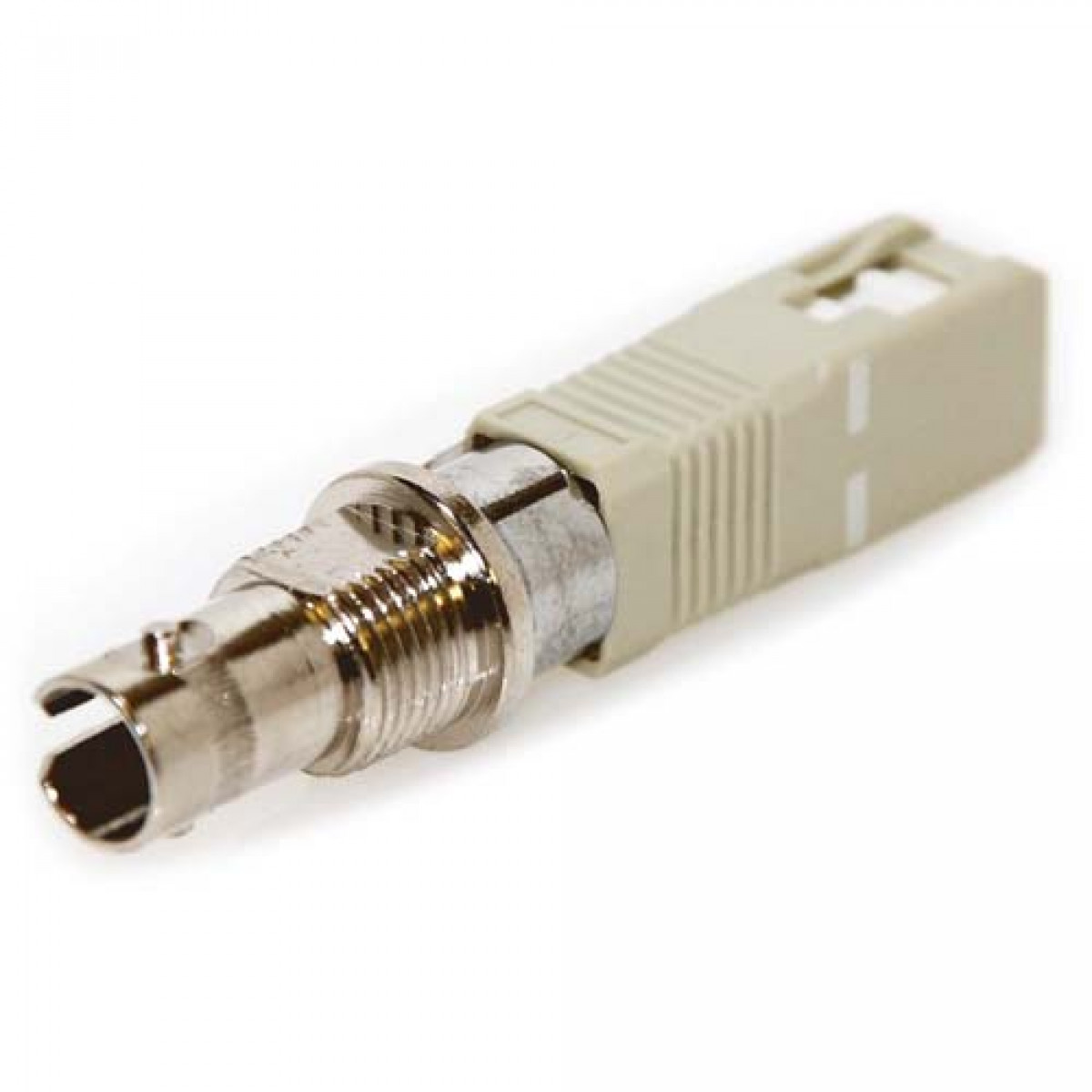 St Female To Sc Male 50 125 Multimode Simplex Adapter