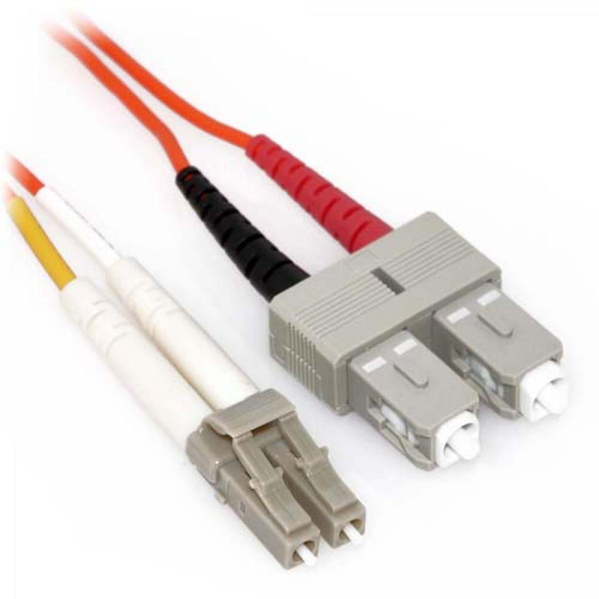PLENUM 100M LC-LC Duplex Multimode 62.5//125 Fiber Optic Cable