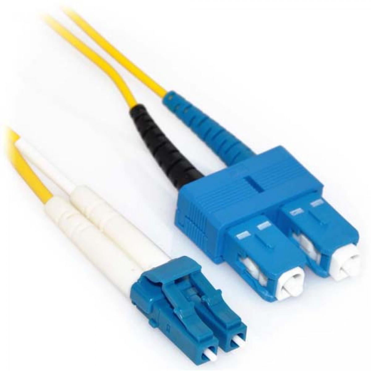 40m Lc Sc 12 Strand Plenum Singlemode 9 125 Fiber Cable