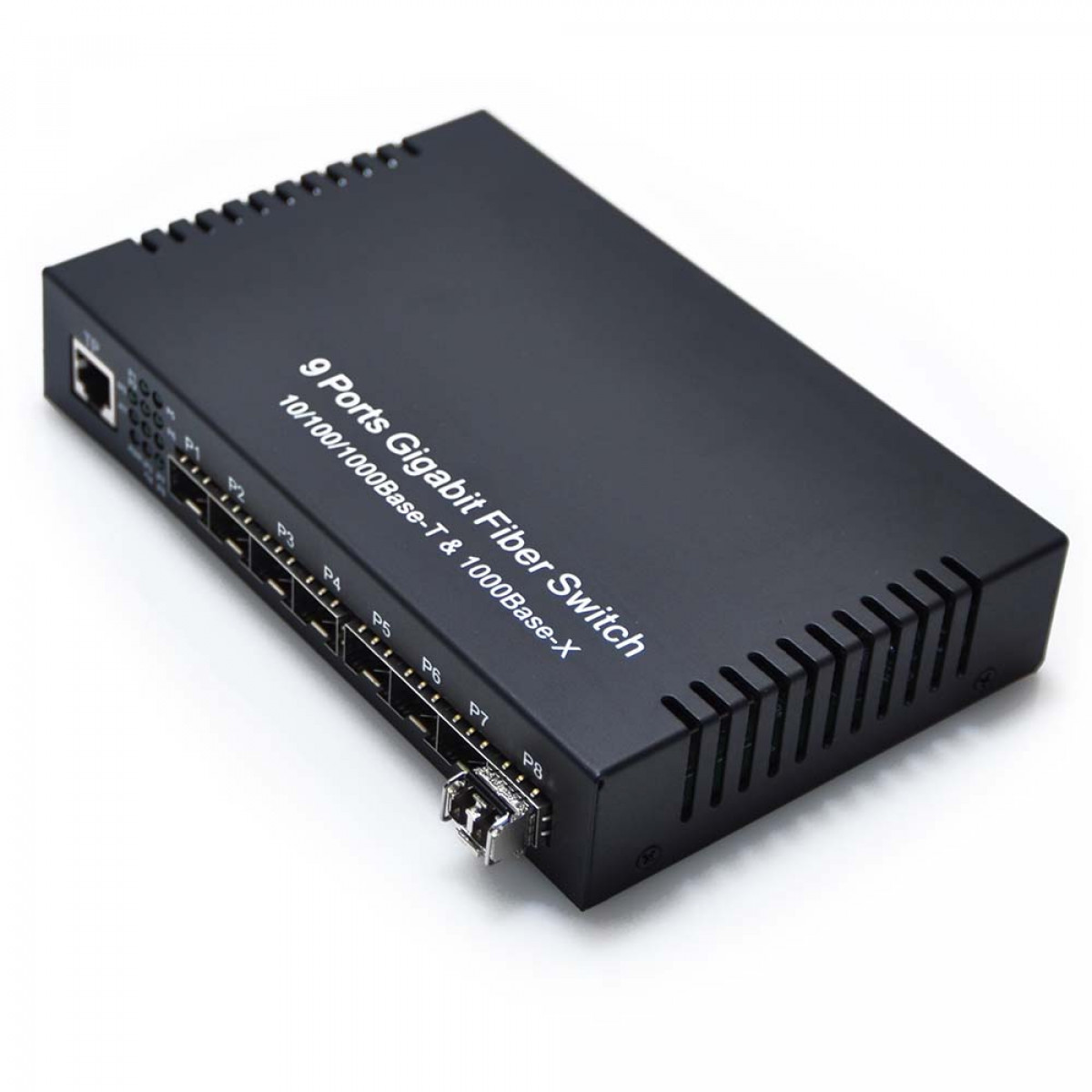 8 Port Sfp Optical Switch With Multimode Sfp