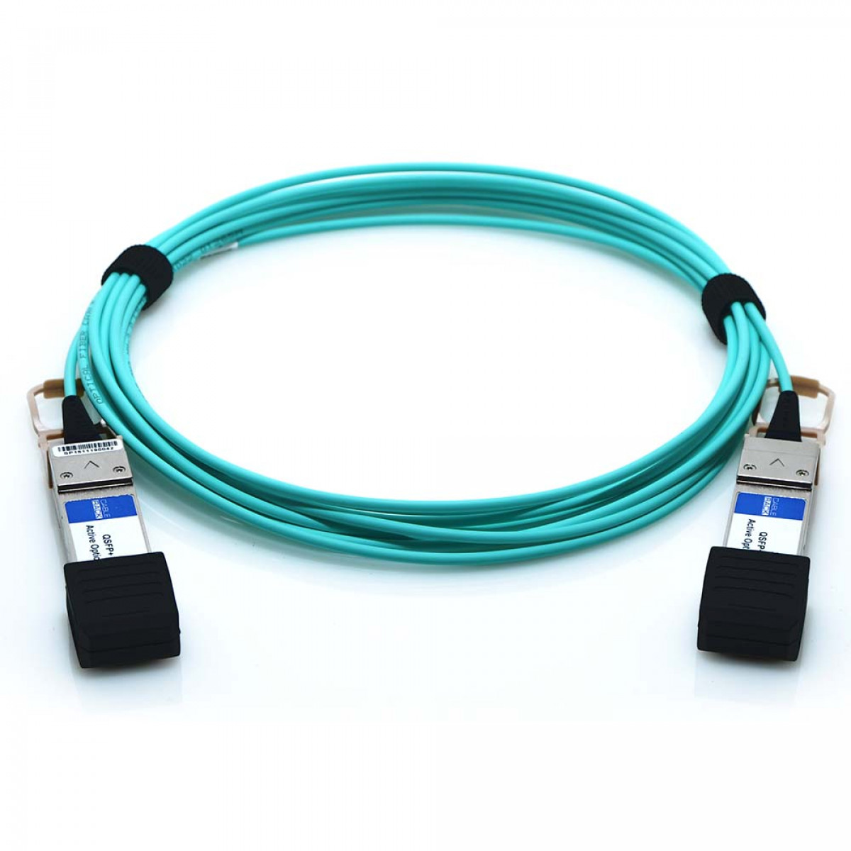 25m QSFP+ 40Gbps Fiber Optic Active Infiniband QDR Plenum Cable