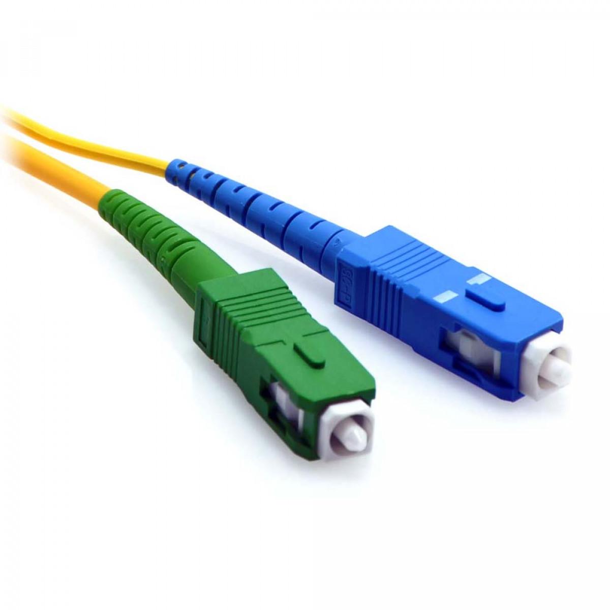 2m Sc Apc To Sc Upc Simplex 9 125 Singlemode Fiber Patch