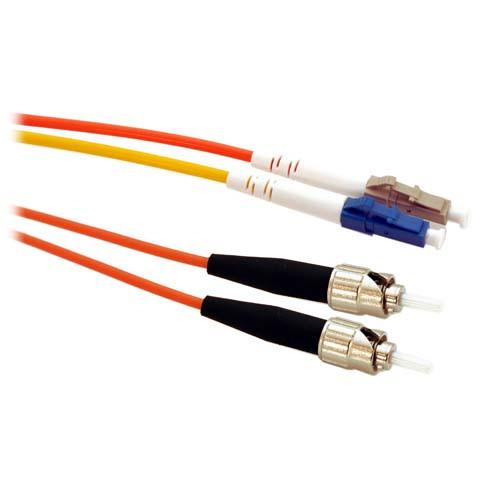 20m LC/ST Mode Conditioning 50/125 Duplex Fiber Optic Cable