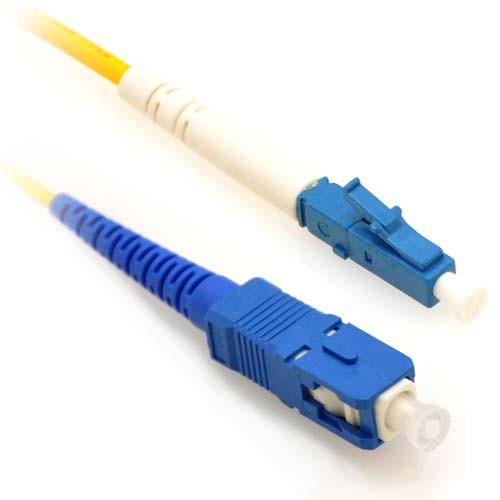 0.5m LC/SC Simplex 9/125 Single Mode Fiber Patch Cable