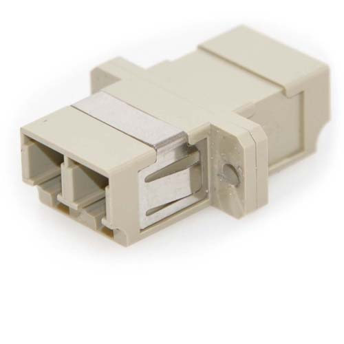 LC/LC Female to Female Multimode Duplex Fiber Coupler (5 Pack)
