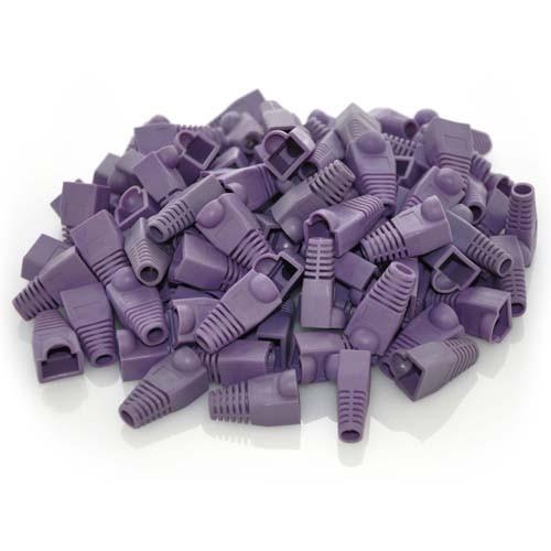 purple cat5e boots