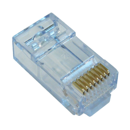 EZ-RJ45 CAT6+ Connector,  Pack of 100
