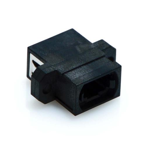 Mtp Mpo Key Up Down Fiber Optic Coupler Black