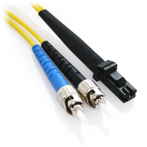 60m ST/MTRJ Duplex 9/125 Singlemode Bend Insensitive Fiber Patch Cable - Yellow