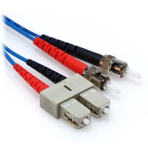 7m SC/ST Duplex 62.5/125 Multimode Fiber Patch Cable - Blue