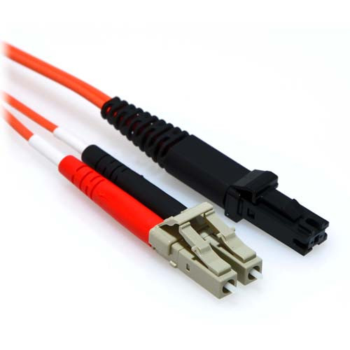 3m LC/MTRJ Duplex 50/125 Multimode Fiber Patch Cable Orange