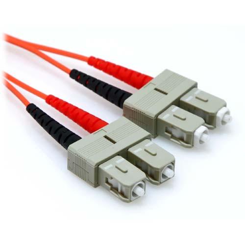 45ft SC/SC Duplex OM1 Multimode 62.5/125 Fiber Cable 3.0mm Jacket Orange