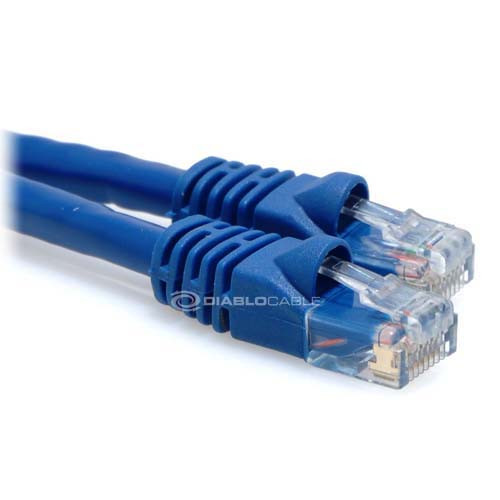 blue cat6 cable