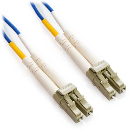 7m LC/LC Duplex 62.5/125 Multimode Fiber Patch Cable - Blue