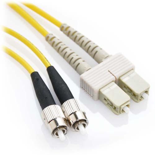 10m FC/SC Duplex 62.5/125 Multimode Fiber Patch Cable - Yellow
