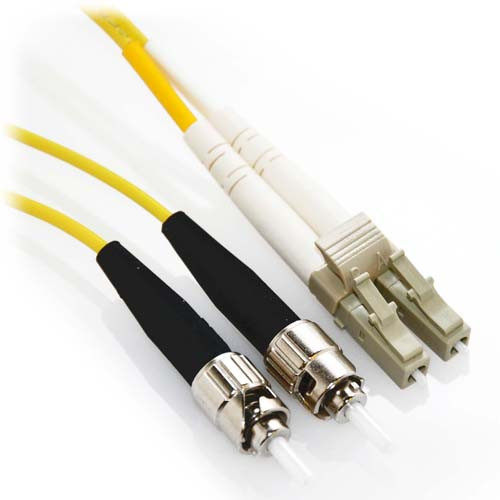 2m LC/ST Duplex 62.5/125 Multimode Fiber Patch Cable - Yellow