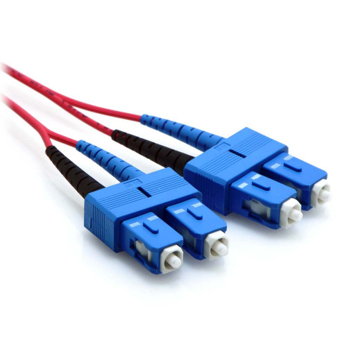 red sc fiber