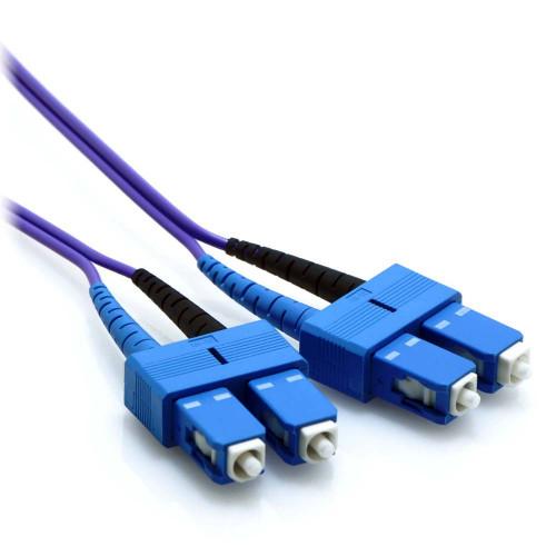 purple sc fiber