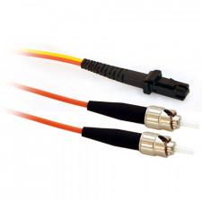 50m MTRJ/ST Mode Conditioning 50/125 Duplex Fiber Optic Cable