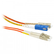 12m SC/LC Mode Conditioning 62.5/125 Duplex Fiber Optic Cable