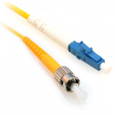 3m LC/ST Simplex 9/125 Single Mode Fiber Patch Cable