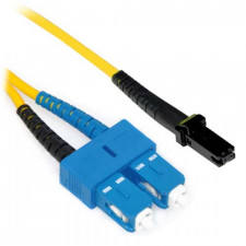 2m LC/MTRJ Duplex 9/125 Single Mode Fiber Patch Cable with Alignment Pins