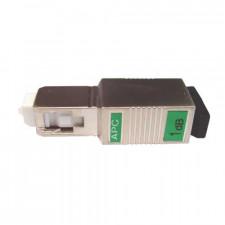 SC/APC Singlemode Plug Type Fiber Attenuator