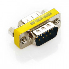 DB9 Male to DB9 Male Serial Mini Gender Changer Coupler