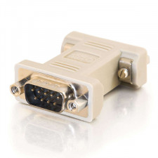 DB9 Male to DB9 Female Serial RS232 Null Modem Adapter