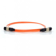 2m MTP 50/125 Multimode 12 Strand Fiber Patch Cable - Orange