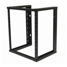 "Standing Relay Rack | 10-32 Screw Holes Single Sided | 4' Tall x 19"" Wide"
