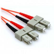 1m SC/SC Duplex 50/125 Multimode Fiber Patch Cable