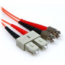 1m FC/SC Duplex 62.5/125 Multimode Fiber Patch Cable