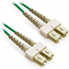 10m SC/SC Duplex 50/125 Multimode Fiber Patch Cable - Green