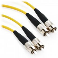 1m FC/FC Duplex 62.5/125 Multimode Fiber Patch Cable - Yellow