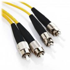 5m FC/ST Duplex 62.5/125 Multimode Fiber Patch Cable - Yellow