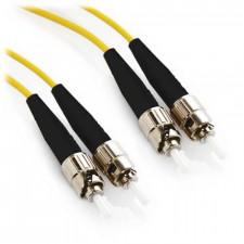 1m ST/ST Duplex 62.5/125 Multimode Fiber Patch Cable - Yellow