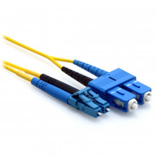 6m LC/SC Duplex 9/125 Single Mode Fiber Patch Cable