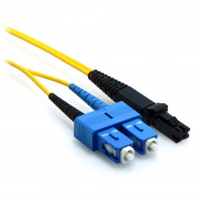 1m SC/MTRJ Plenum Duplex 9/125 Single Mode Fiber Patch Cable