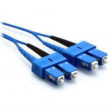 blue sc fiber