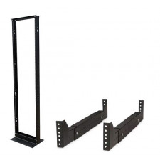 Open Frame -  Double Sided - 2 Post / With 4 piece rack Conversion kit
