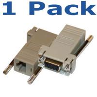 Cisco DB9 Female to RJ45 Female Console Adapter, CAB-9AS-FDTE