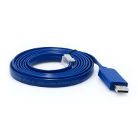 6 Foot USB to RJ45 Rollover Console Cable with Built in FTDI Micro Chip for Cisco Devices by CableRack