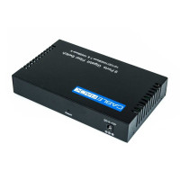 CableRack 8 Port SFP Optical Switch with One 1000M UTP RJ45 Port
